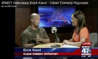 State Fair Hypnotist Erick Kand TV interview